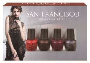 Winner Announced: OPI San Francisco Collection Minis Giveaway