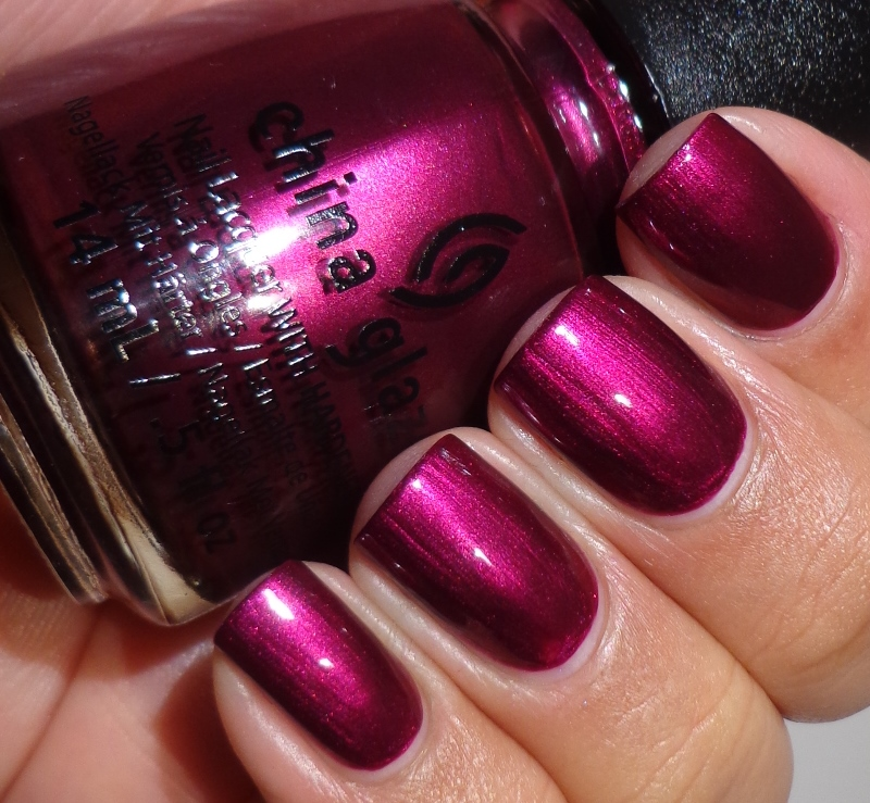 China Glaze Autumn Nights Shimmers Of Life And Lacquer