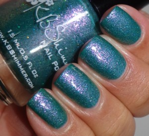 KBShimmer Teal Another Tail 2