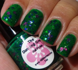 KBShimmer The Dancing Green 1