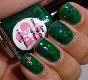 KBShimmer The Dancing Green 2
