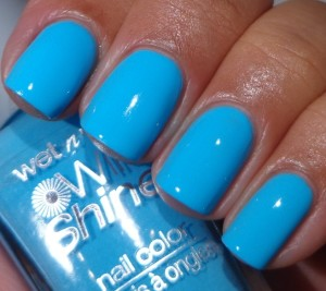 Wet N Wild Teal Slowly 1