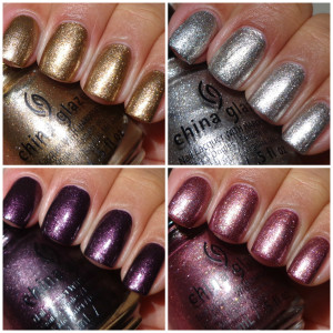 China Glaze Autumn Nights Collection – Foils