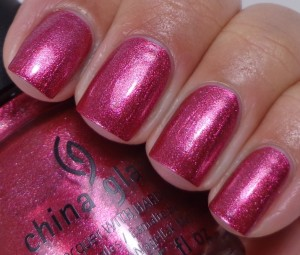 China Glaze Santa Red My List 1