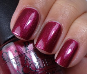 OPI Cute Little Vixen 1