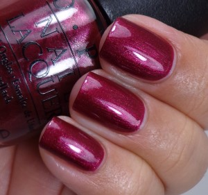 OPI Cute Little Vixen 2