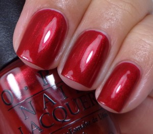 OPI In My Santa Suit 1