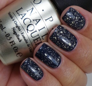 OPI Mariah Carey 18K White Gold & Silver Leaf Top Coat 3