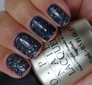 OPI Mariah Carey 18K White Gold & Silver Leaf Top Coat 4