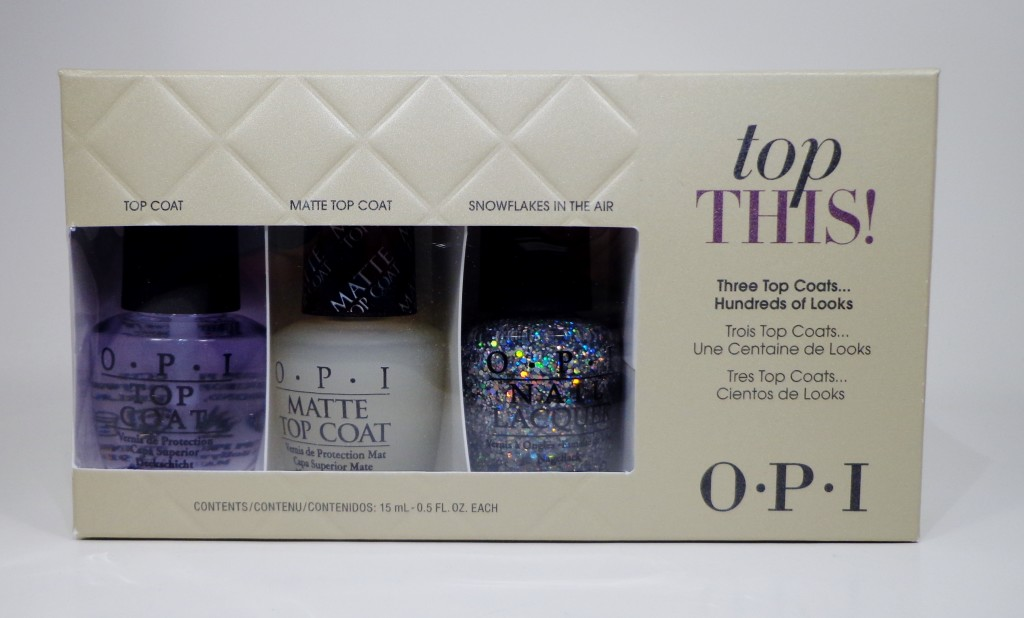 OPI Top This! Set