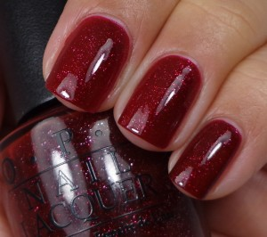 OPI Underneath The Mistletoe 1