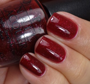 OPI Underneath The Mistletoe 2