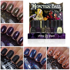 China Glaze Monsters Ball Collection – Halloween 2013