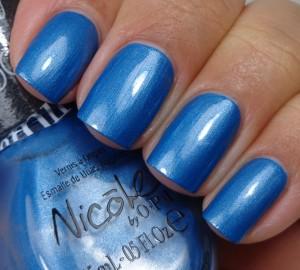 Nicole by OPI Late Blu-mer 1