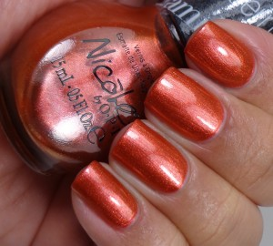 Nicole by OPI Who Red My Journal 2