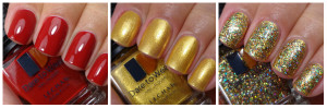 Dare To Wear Gold Crush Holiday Lacquer Set