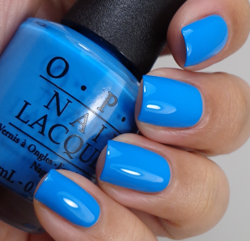 OPI No Room For The Blues 2