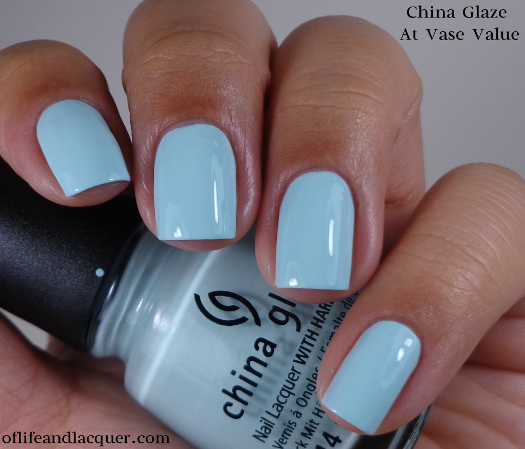 China Glaze At Vase Value 1a