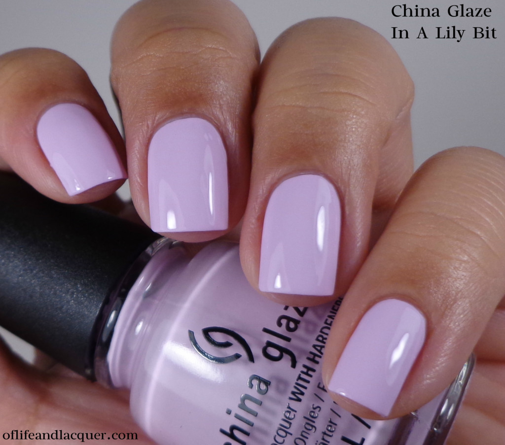 China Glaze In A Lily Bit 1a