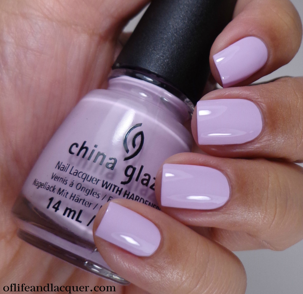 China Glaze In A Lily Bit 2a