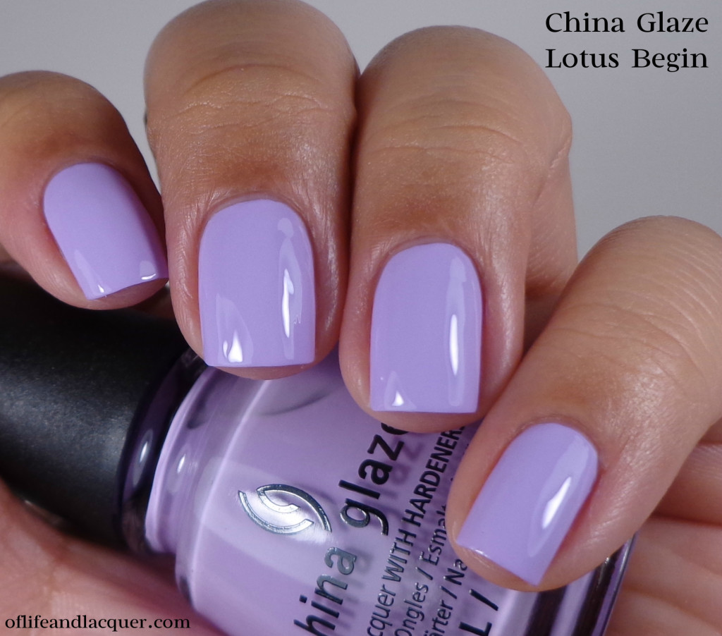 China Glaze Lotus Begin 1a