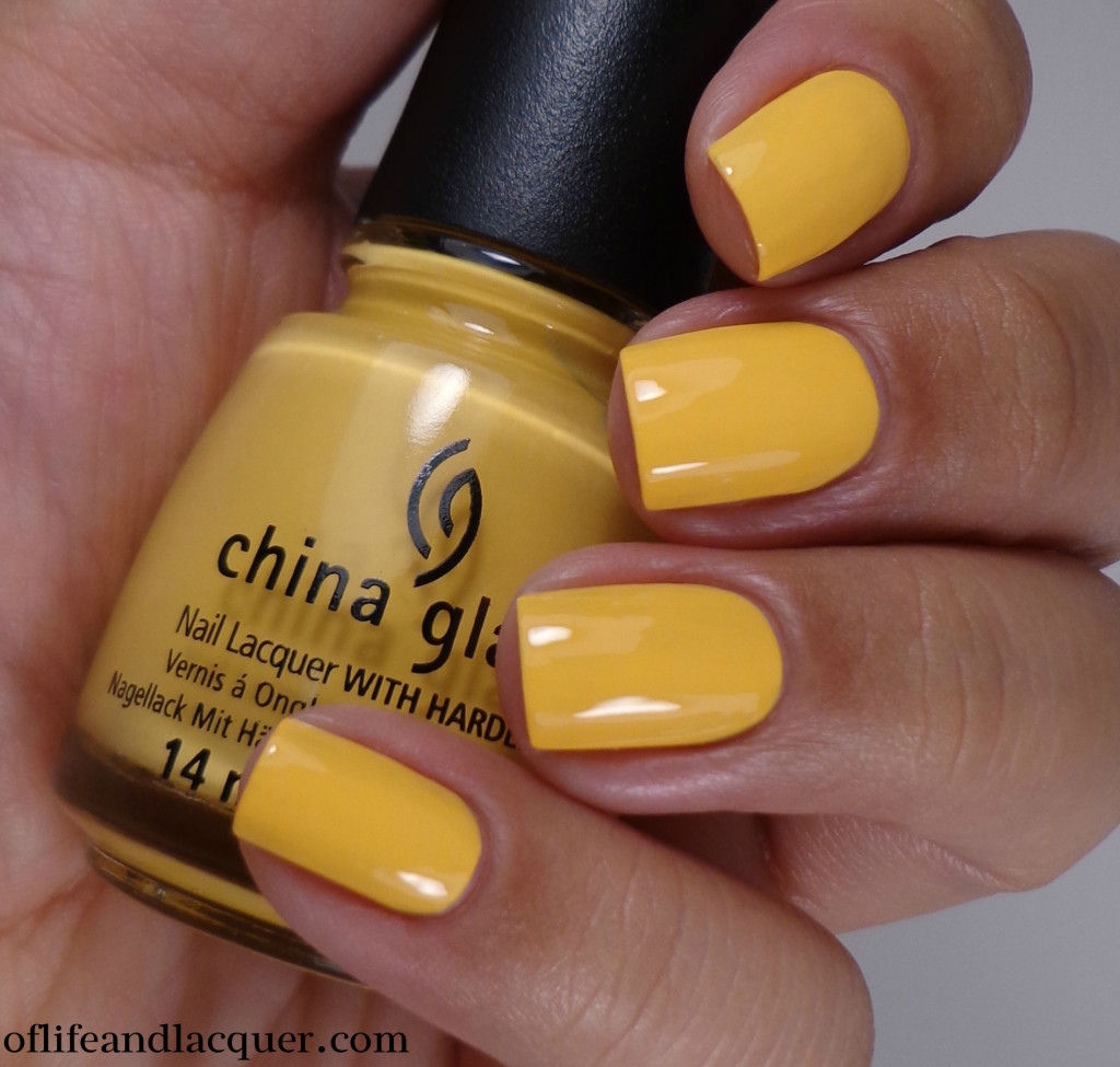 China Glaze Metro Pollen-Tin 2a