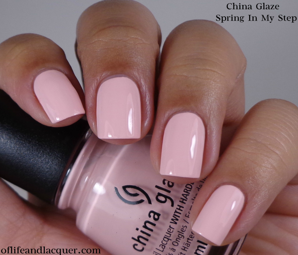 China Glaze Spring In My Step 1a