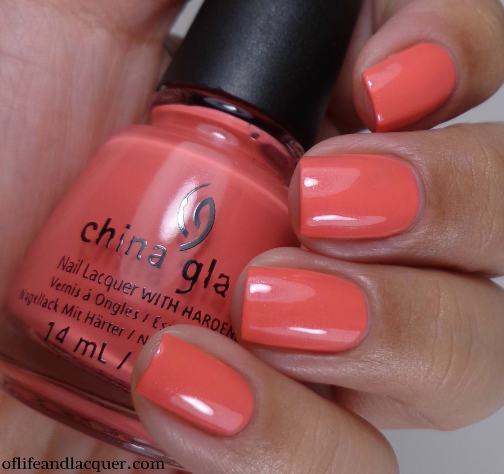China Glaze Strike A Rose 2a
