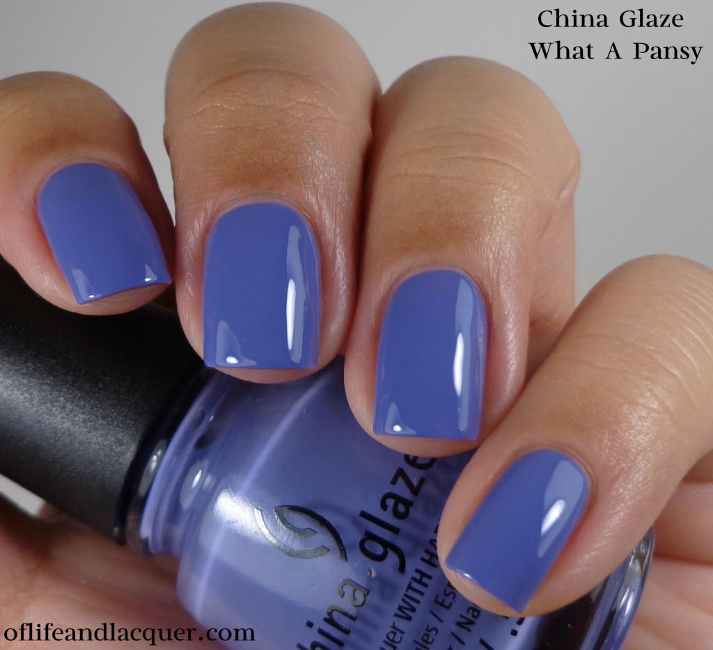 China Glaze What A Pansy 1a