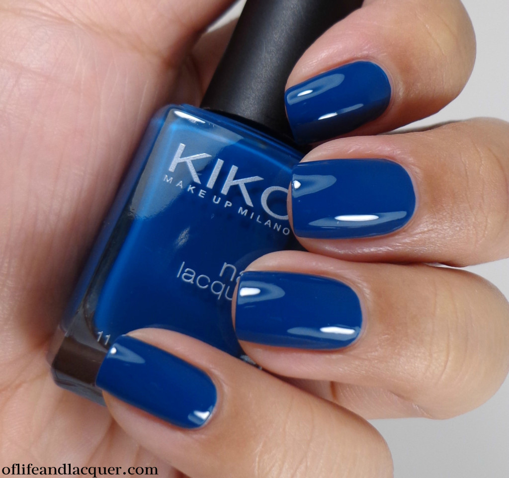 Kiko 383 Oil Blue 2a