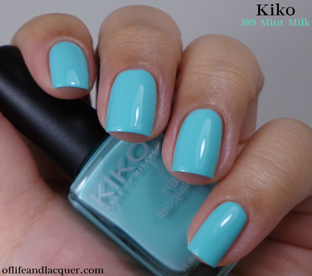 Kiko 389 Mint Milk 1a