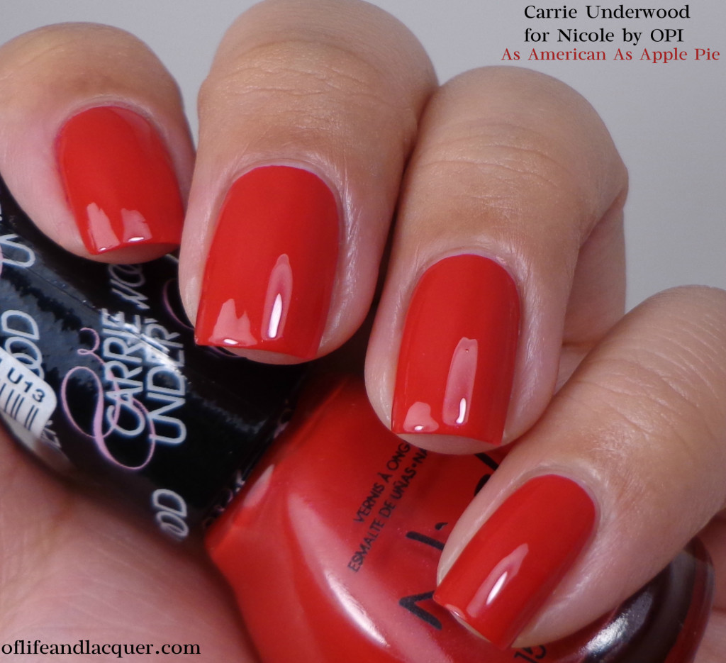 Nicole by OPI As American As Apple Pie 1a