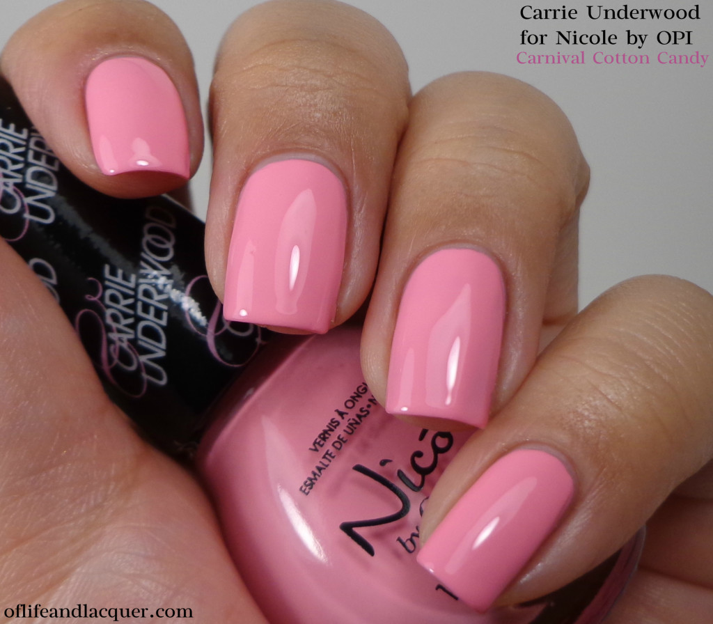 Nicole by OPI Carnival Cotton Candy 1a