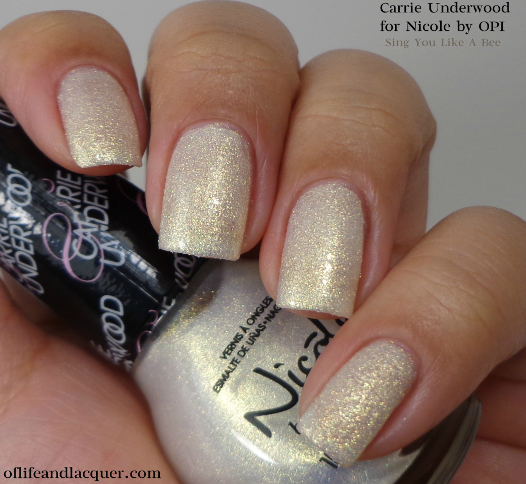 Nicole by OPI Sing You Like A Bee 1a