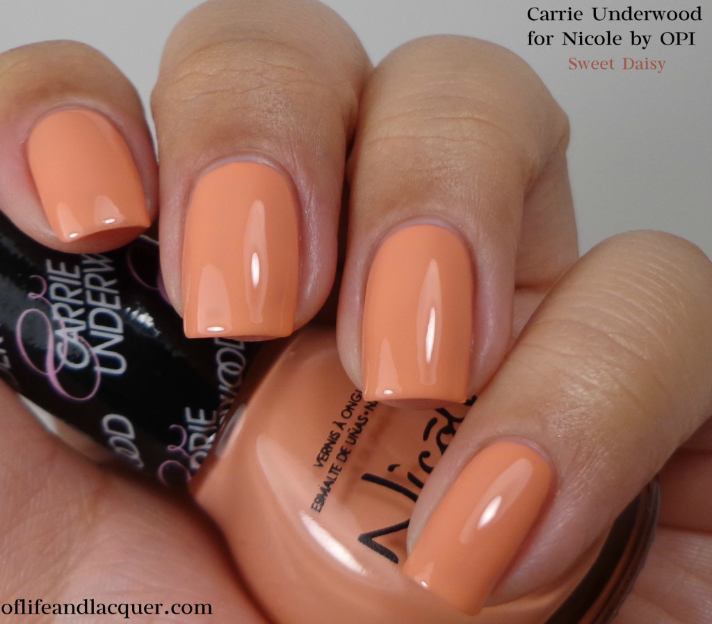 Nicole by OPI Sweet Daisy 1a