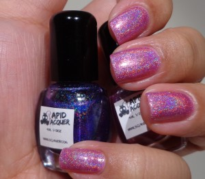 Vapid Lacquer – Grape Stomp & In The Pink