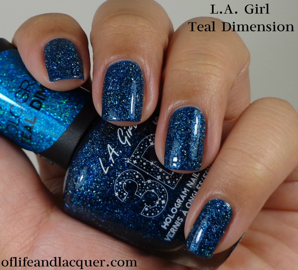L.A. Girl 3D Effects Teal Dimension 1a