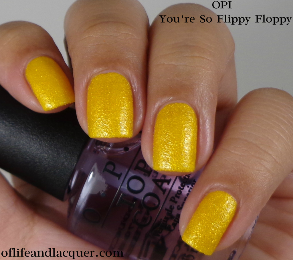 OPI You're So Flippy Floppy 1a