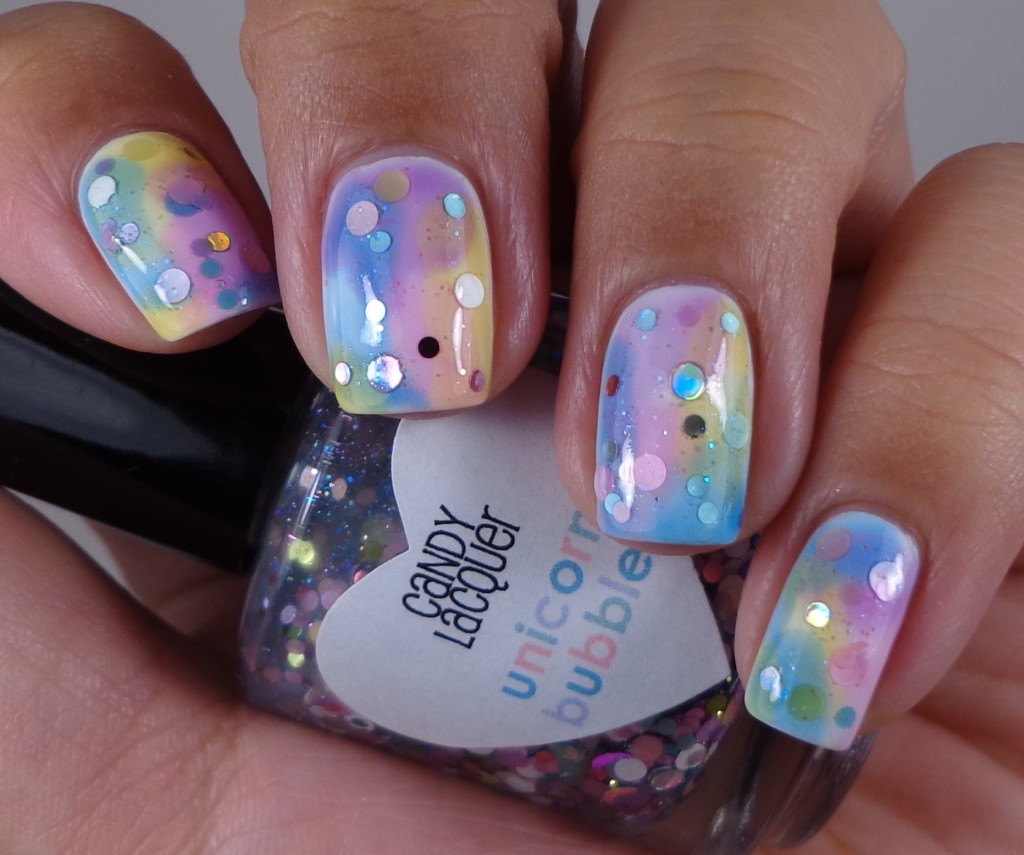 Candy Lacquer Unicorn Bubbles 1