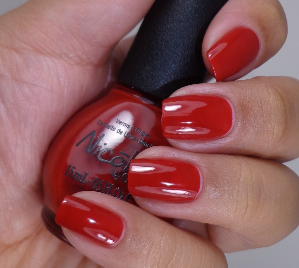 Nicole by OPI Challenge Red-y 2