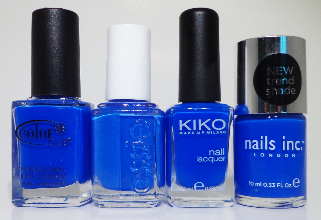 Electric Blue Nail Polish Essie Kiko Electric Blue – Nails