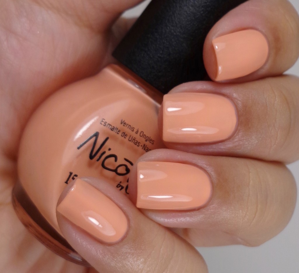 Nicole by OPI I'll Have The Salmon 2