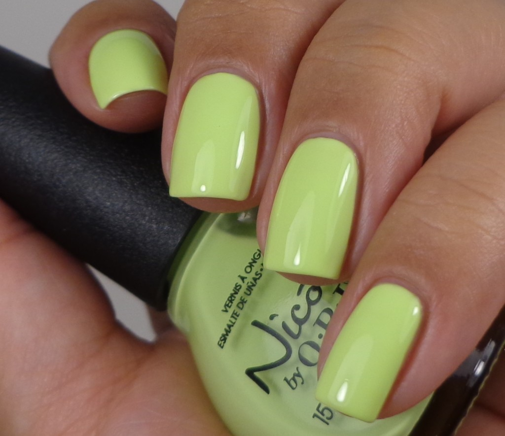 Nicole by OPI Lay It On The Lime 1