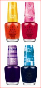 Giveaway – OPI Sheer Tints