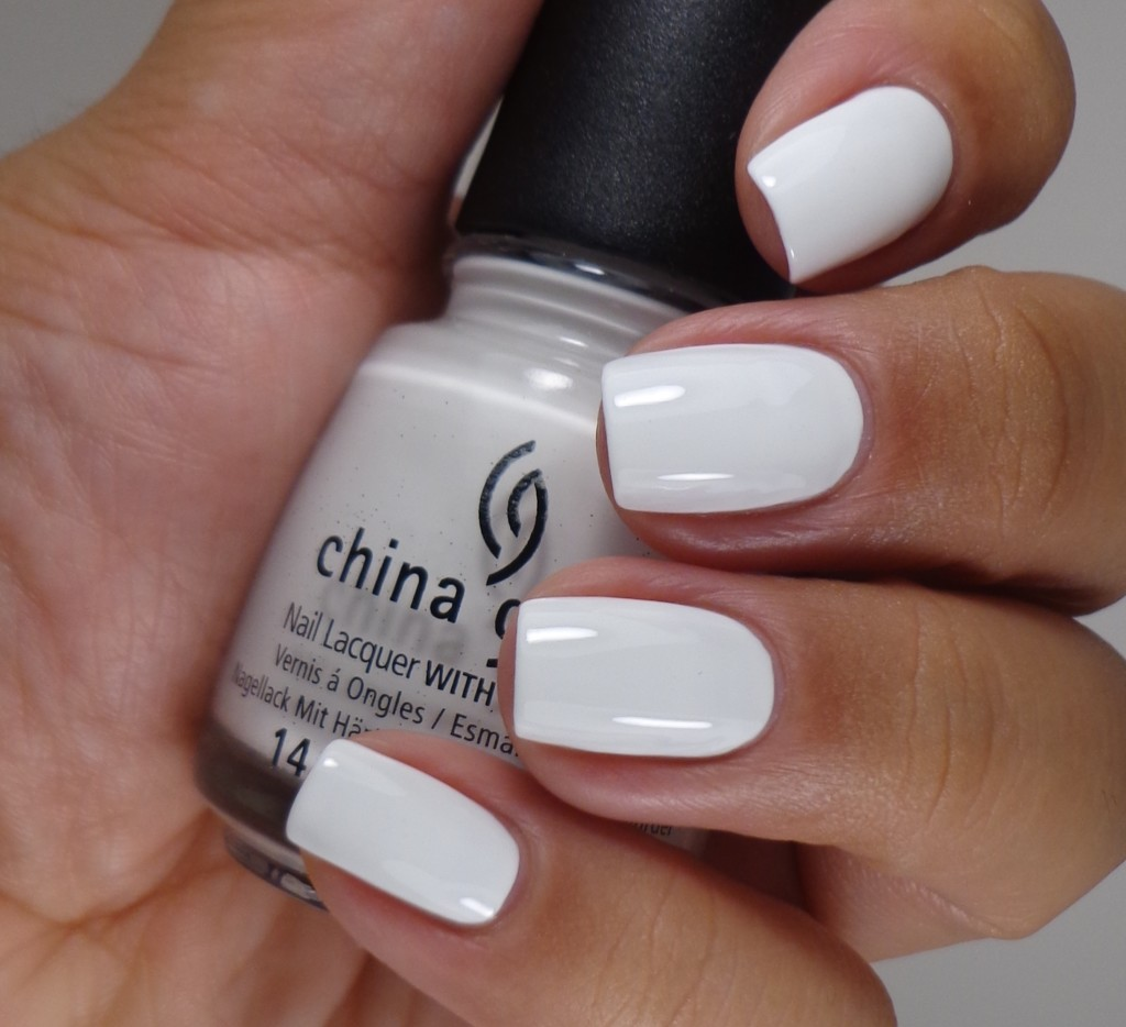 China Glaze White on White 1