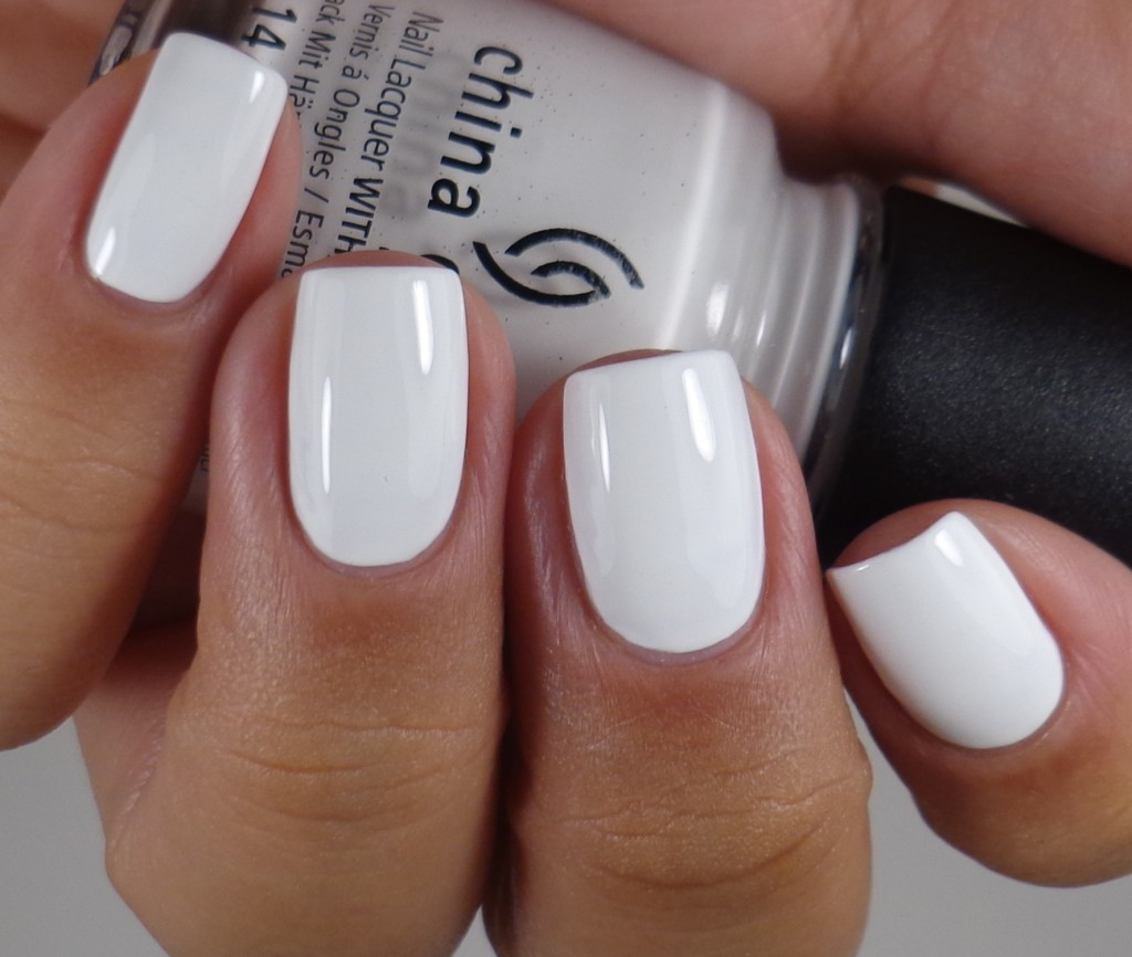 China Glaze White on White 2
