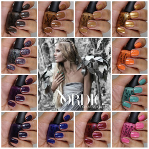OPI Nordic Collection Giveaway!