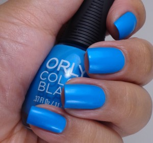 Orly Color Blast Bright Blue Neon