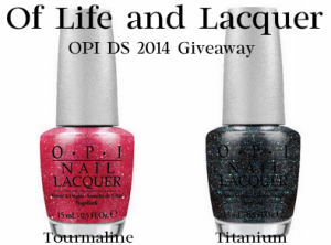 Giveaway – OPI DS Polished Quartz