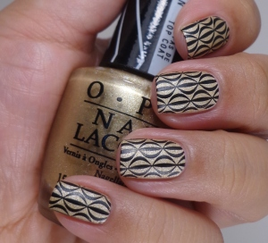 The Lacquer Ring – Gold